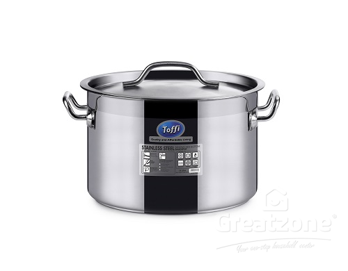 STAINLESS STEEL SANDWICHED BOTTOM SAUCEPOT C4500 SERIES
