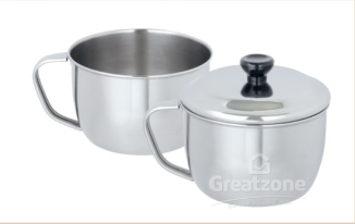 120*18.0 Stainless Steel Cup With Cover
