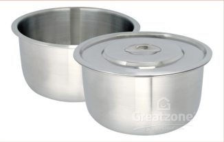 340*18.0 Stainless Steel Indian Pan