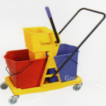 WASHING TROLLEY  WITH TWO BUCKET