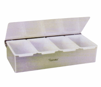 Compartment Condiment Dispenser - 4