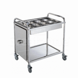 Seasoning Trolley Knock Down - 12 Compartments