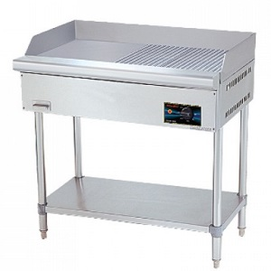 Electrical Griddle Half Ribbed Free Standing
