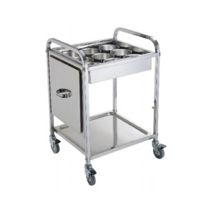 Seasoning Trolley Knock Down - 9 Compartments